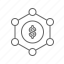 affiliate, crowdfunding, finance, money icon