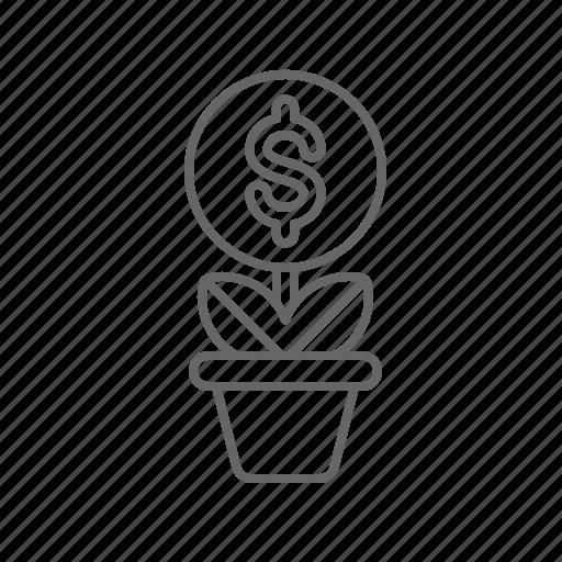 crowdfunding, fundraising, money icon