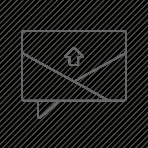 Chat, conversation, upload icon - Download on Iconfinder