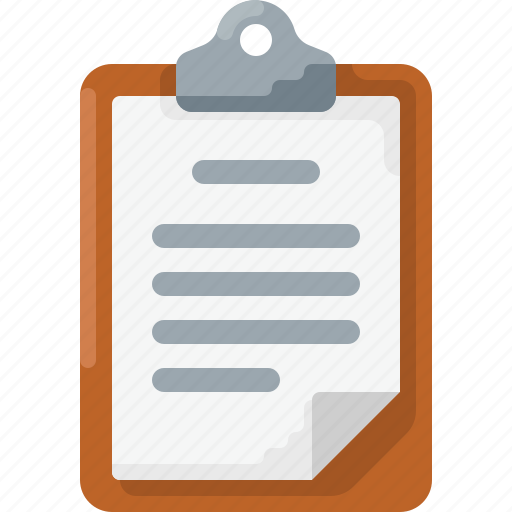 Business, clipboard, doc, document, note, text icon - Download on Iconfinder