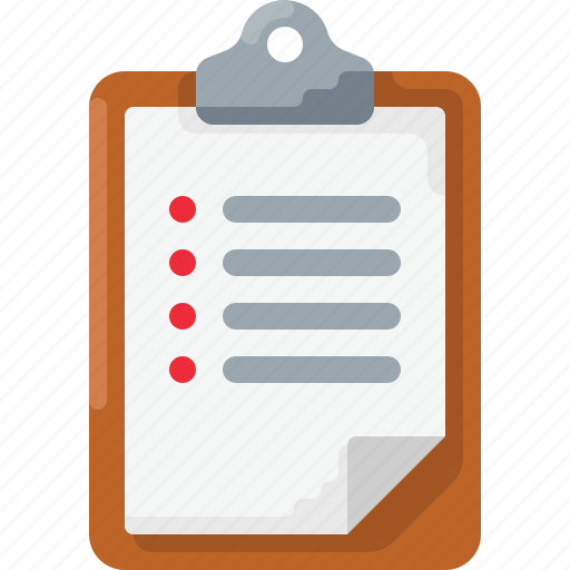Business, checklist, clipboard, document, list, survey, to do icon - Download on Iconfinder