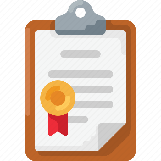 Award, clipboard, doc, document, medal, prize, ribbon icon - Download on Iconfinder