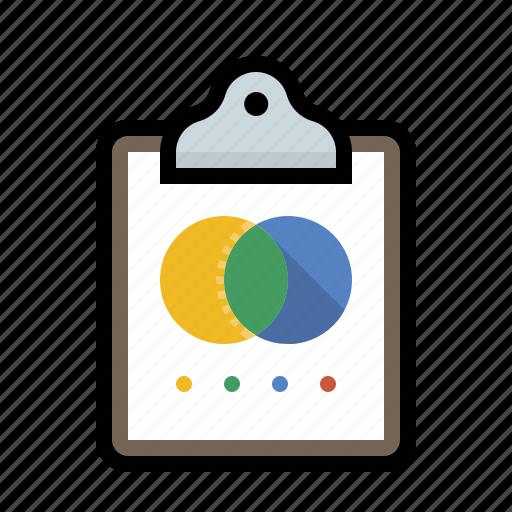 analytics, chart, clipboard, diagram, vin icon