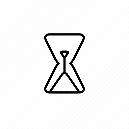 clock, finishing, hour, hourglass, old, sand, time icon