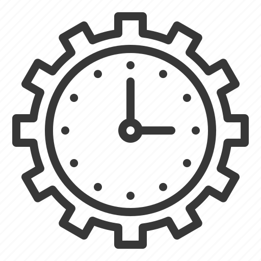 'Clock (line)' by icon stall