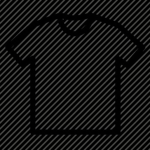 clothes, fashion, neck, round, shirt icon