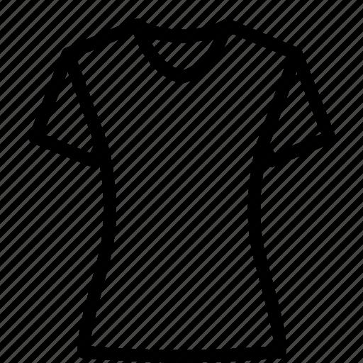 clothes, fashion, half, tshirt, women icon