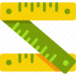 clothes, length, measure, measurment, meter, ruler, size icon