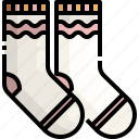 clothes, clothing, fashion, feet, sock, winter icon