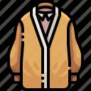 clothes, clothing, coat, garment, jacket, overcoat, raincoat icon