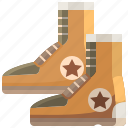 boot, footwear, rainboots, raining, rainy icon