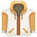 clothes, clothing, fashion, garment, hoodie, sweatshirt, topcoat icon