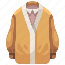 clothes, clothing, coat, garment, jacket, overcoat, raincoat icon