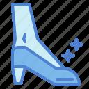 female, footwear, shoe icon