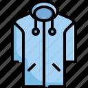 clothes, clothing, coat, fashion, jacket icon