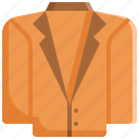 clothes, clothing, fashion, jacket, suit icon