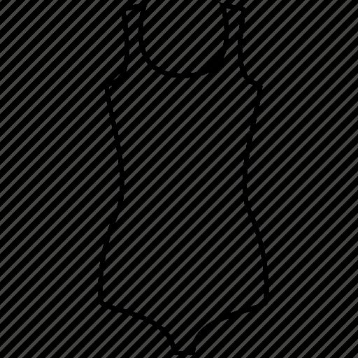 swimsuit, swimwear icon