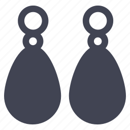 accessories, accessory, clothes, clothing, earrings icon