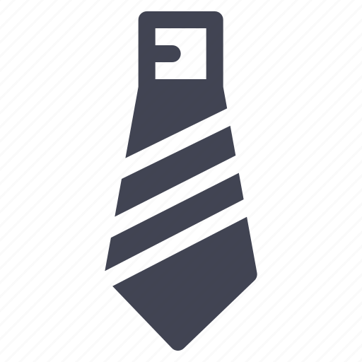 business, clothes, clothing, formal, necktie, tie icon