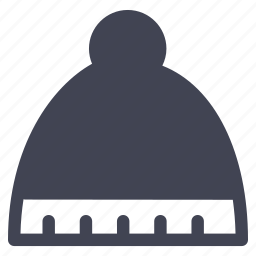 cap, clothes, clothing, ice, winter icon