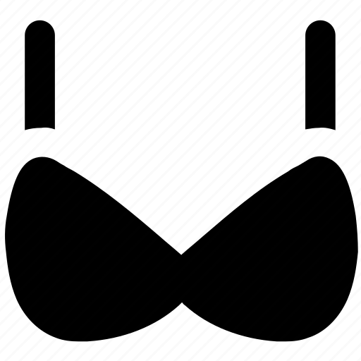 bra, brasserie, garments, underclothes, undergarments, women's clothing icon