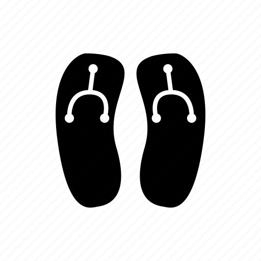 clothes, fashion, flip flops, footwear, sandals, shoes icon
