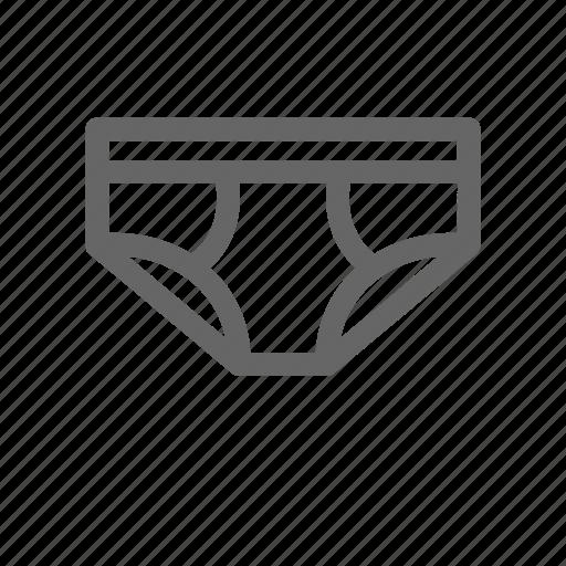 underpants, underwear icon