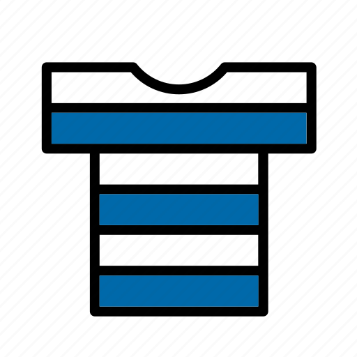 accessory, clothes, clothing, garment, sailor, striped, t-shirt icon