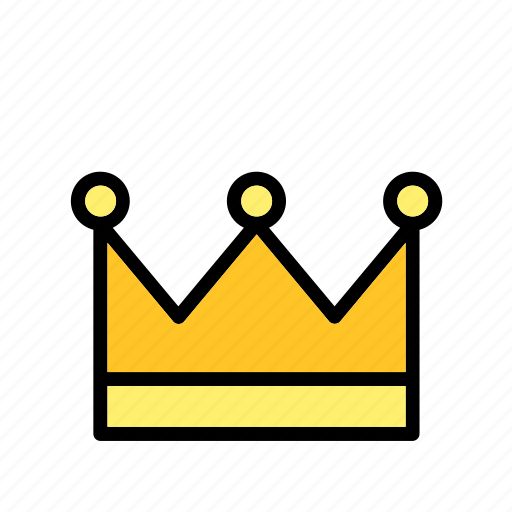 accessory, clothes, clothing, crown, hat, king, queen icon