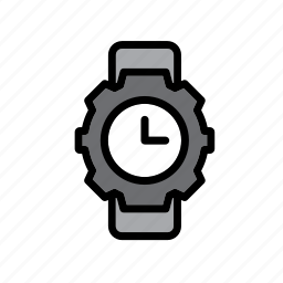 accessory, clock, clothes, clothing, garment, watch, wristwatch icon