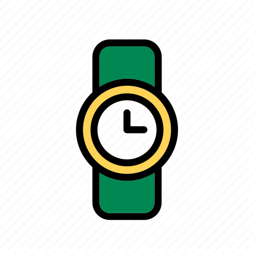 Accessory, clock, clothes, clothing, garment, watch, wristwatch icon - Download on Iconfinder