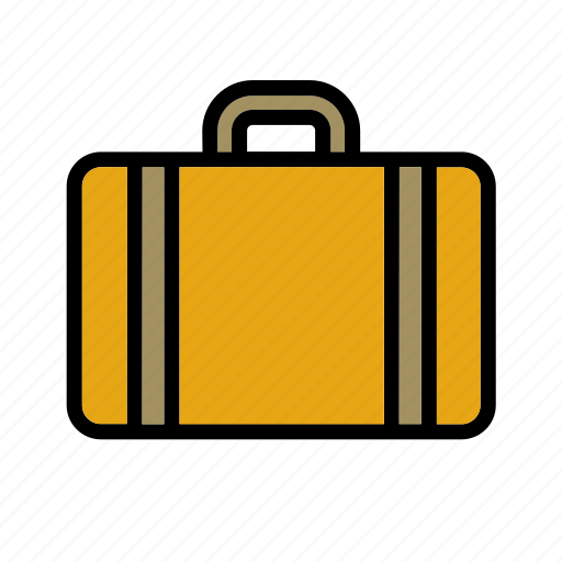 accessory, clothes, clothing, garment, luggage, suitcase icon