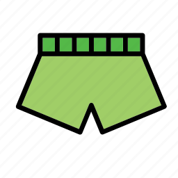 accessory, boxer shorts, boxers, clothes, clothing, swim suit, underwear icon