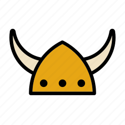 hat, helmet, horn, horns, nordic, norse, viking icon