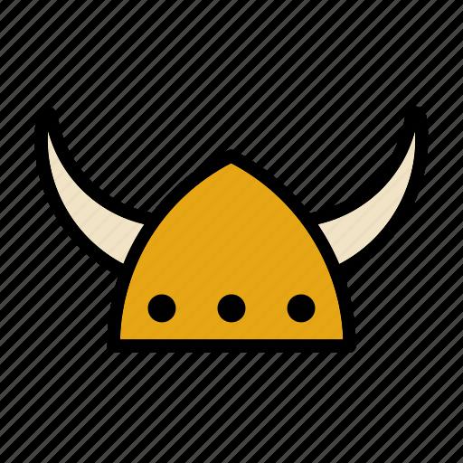 Hat, helmet, horn, horns, nordic, norse, viking icon - Download on Iconfinder