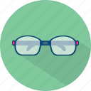 accessories, glass, view icon