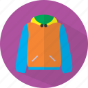 clothes, fashion, jacket icon