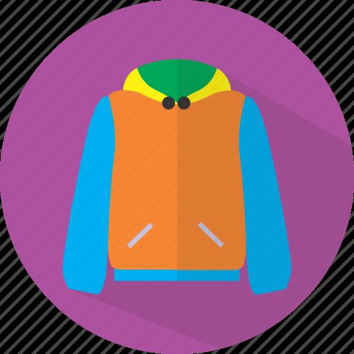 clothes, fashion, jacket icon