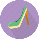 accessories, fashion, girl, shoes icon
