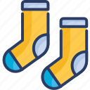 baby socks, clothes, fashion, footwear, socks, winter, woolen icon