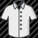 shirt, polo shirt, clothes, clothing, collar, neck, outfit