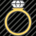 ring, diamond, proposal, wedding, present, fashion, finger ring