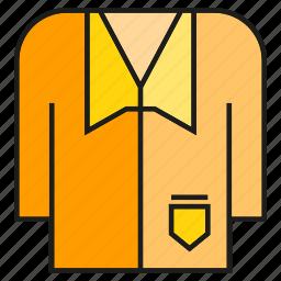 cloth, costume, fashion, garment, jacket, suit, tuxedo icon
