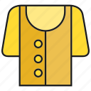 apparel, cloth, costume, fashion, garment, shirt, style