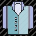 apparel, cloth, costume, garment, jacket, suit, tuxedo