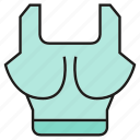 cloth, fashion, garment, shirt, singlet, sport, vest icon