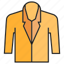 cloth, fashion, garment, shirt, style, suite, tuxedo icon