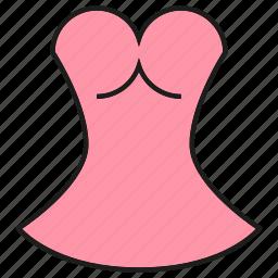 apparel, cloth, dress, fashion, garment, style, tunic icon