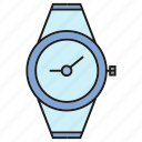 clock, fashion, style, timepiece, watch icon