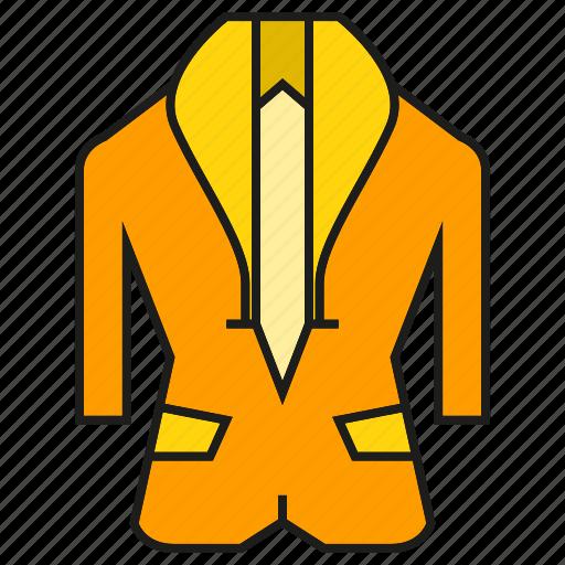 apparel, cloth, fashion, garment, style, suit, tuxedo icon